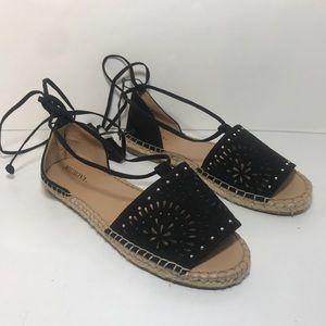 Merona tie up sandals
